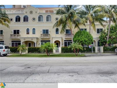 Pompano Beach Condo/Townhouse For Sale: 3208 NE 4th St #3208