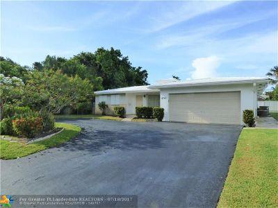 Pompano Beach Single Family Home Backup Contract-Call LA: 2760 SE 2nd St
