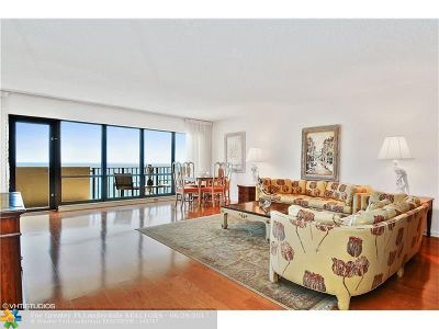 Lauderdale By The Sea Condo/Townhouse For Sale: 5100 N Ocean Blvd #1416