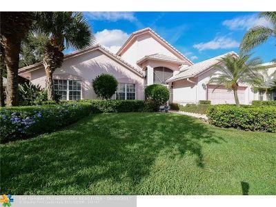 Boynton Beach Single Family Home For Sale: 6865 Sun River Rd