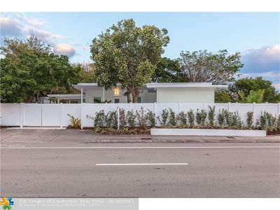 Fort Lauderdale Rental For Rent: 2616 N Ocean Blvd