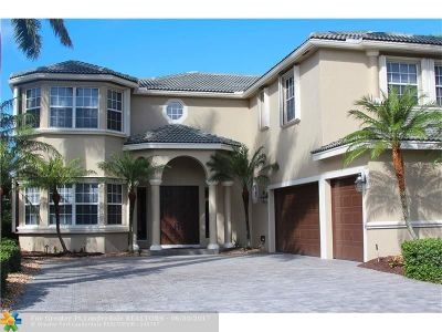 Coral Springs Single Family Home For Sale: 4960 NW 119th Ter