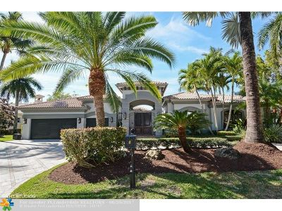 Coral Springs Single Family Home For Sale: 6320 NW 120th Dr