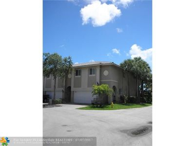 Fort Lauderdale Condo/Townhouse Backup Contract-Call LA: 2756 Treasure Cove Cir #18
