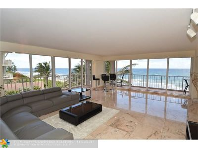 Highland Beach Condo/Townhouse For Sale: 3505 S Ocean Blvd #3-N