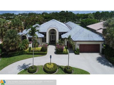 Boca Raton Single Family Home For Sale: 10265 Shireoaks Ln