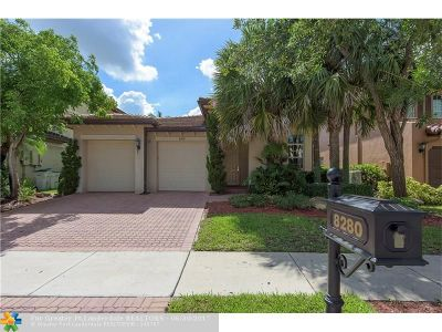 Parkland Single Family Home For Sale: 8280 NW 105th Ln