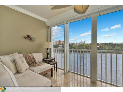 Lighthouse Point Condo/Townhouse For Sale: 3100 NE 48th Ct #405