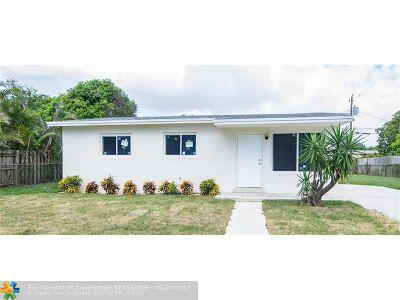 Lantana Single Family Home Backup Contract-Call LA: 1035 S 14th Ct