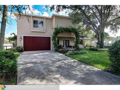 Plantation Single Family Home For Sale: 11490 NW 23rd St