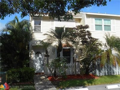 Fort Lauderdale FL Condo/Townhouse For Sale: $249,000