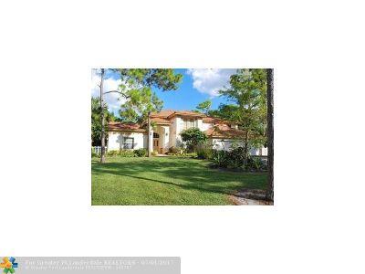 Parkland Single Family Home For Sale
