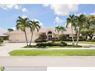 Boca Raton Single Family Home For Sale: 4173 Bocaire Blvd