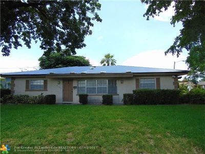 Coral Springs Single Family Home Backup Contract-Call LA: 4109 NW 79th Ave