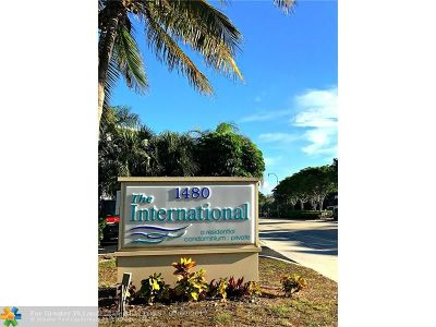 Lauderdale By The Sea Condo/Townhouse For Sale: 1480 S Ocean Blvd #308