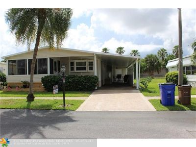 Pompano Beach Single Family Home For Sale: 5338 NW 1st Ave
