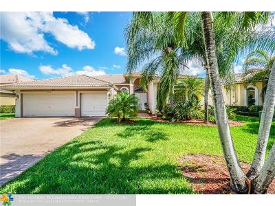 Coral Springs Single Family Home For Sale: 12349 NW 52nd Ct