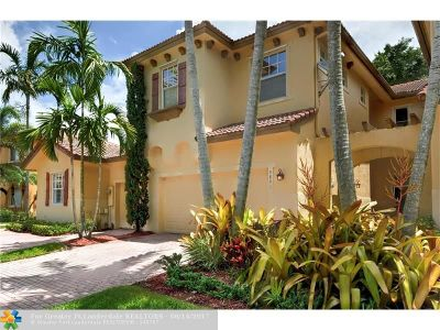 Coral Springs Condo/Townhouse For Sale: 5801 NW 119th Ter #5801