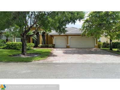 Coral Springs Single Family Home For Sale: 11233 NW 51st St