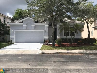 Pembroke Pines Single Family Home For Sale: 16306 NW 17th Ct