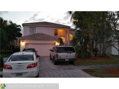 Lake Worth Single Family Home For Sale: 7504 Ridgefield Ln