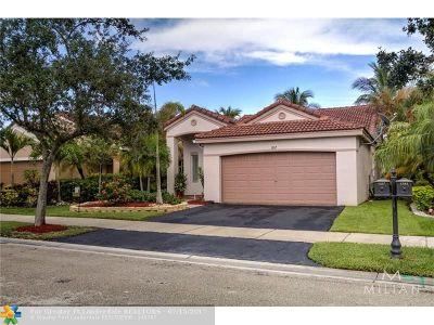 Weston Single Family Home Backup Contract-Call LA: 1337 Majesty Ter