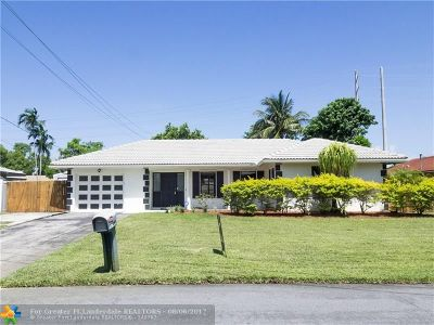 Boynton Beach Single Family Home For Sale: 2716 SW 10th St