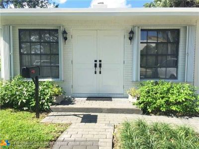 Lauderdale Harbors Single Family Home For Sale: 1207 Cordova Rd