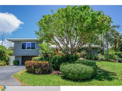 Coral Ridge, Coral Ridge 21-50 B, Coral Ridge Add, Coral Ridge Country Club Single Family Home For Sale: 2433 NE 27th Ter