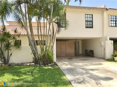 Deerfield Beach Condo/Townhouse Backup Contract-Call LA: 185 NW 45th Ave #185