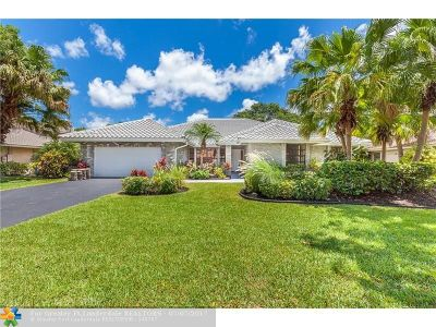 Coral Springs Single Family Home For Sale: 9077 NW 47th Ct