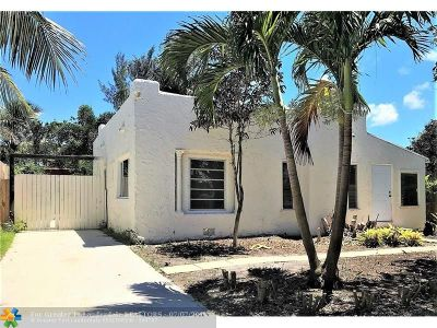 West Palm Beach Single Family Home Backup Contract-Call LA: 614 Macy St