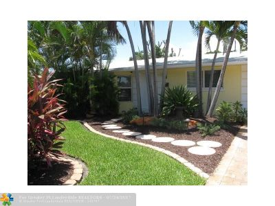 Pompano Beach Single Family Home For Sale: 1611 SW 2nd Ave