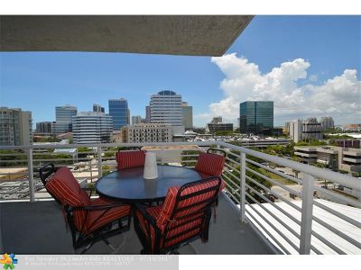 Fort Lauderdale Condo/Townhouse For Sale: 315 NE 3rd Ave #803