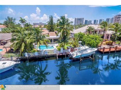 Miami Single Family Home For Sale: 3440 NE 165th St