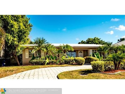 Broward County Single Family Home For Sale: 1540 SE 6 St
