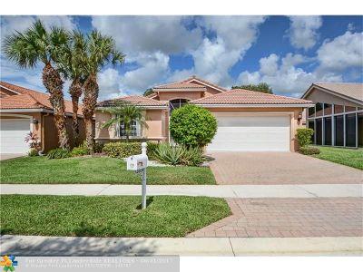 Delray Beach Single Family Home For Sale: 13809 Via Vittoria
