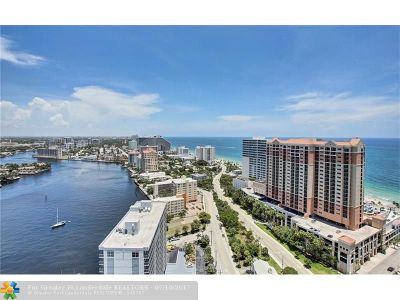 Fort Lauderdale Rental For Rent: 100 S Birch Rd #PH2903C