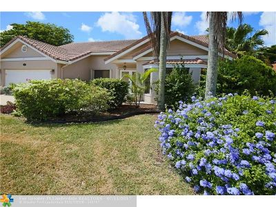 Coral Springs Single Family Home Sold: 5960 NW 46th Mnr