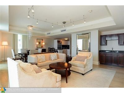 Fort Lauderdale Condo/Townhouse For Sale: 1 N Fort Lauderdale Beach Blvd #1704