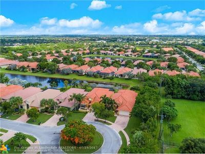 Boynton Beach Single Family Home For Sale: 6846 Boscanni Dr