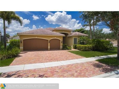 Miramar Single Family Home For Sale: 19542 SW 39th St
