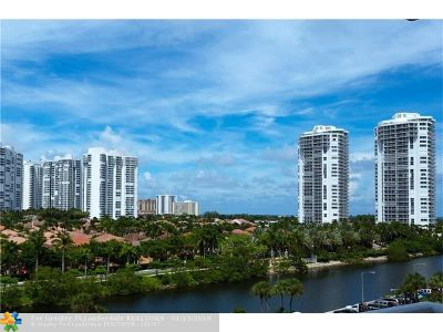 Aventura Condo/Townhouse For Sale: 3675 N Country Club Dr #710