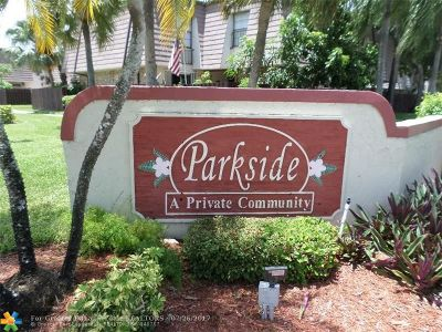 Coral Springs Condo/Townhouse For Sale: 2669 NW 99th Ave #2669
