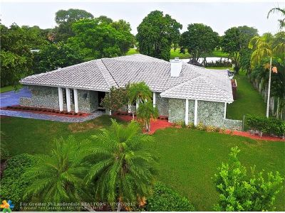 Coral Springs Single Family Home For Sale: 2440 NW 108th Dr