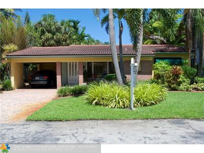 Fort Lauderdale Single Family Home Backup Contract-Call LA: 1224 NE 17th Way