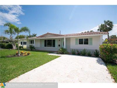 Pompano Beach Single Family Home For Sale: 300 SE 8th Ct