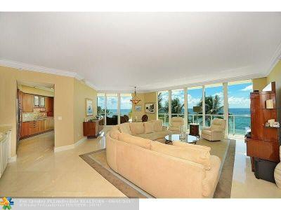 Hillsboro Beach Condo/Townhouse For Sale: 1063 Hillsboro Mile #302