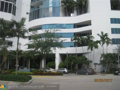 Fort Lauderdale FL Condo/Townhouse For Sale: $710,500