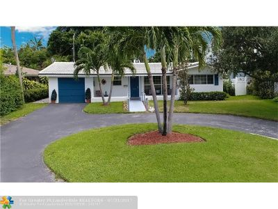 Pompano Beach Single Family Home For Sale: 2580 SE 5th St